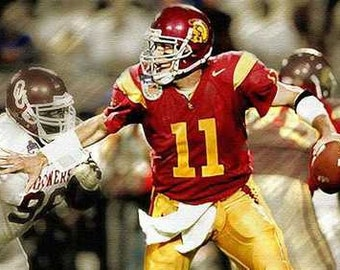 Great USC Matt Leinert Rare Art Lithograph
