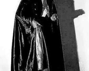 Count Dracula Bela Lugosi Art Lithograph rare LE of 50