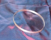 BRACELET/SOLID SILVER/Sterling Bangle/Diamond Finish/Eco Friendly/ 'The Pearly Marble' Style 17/01