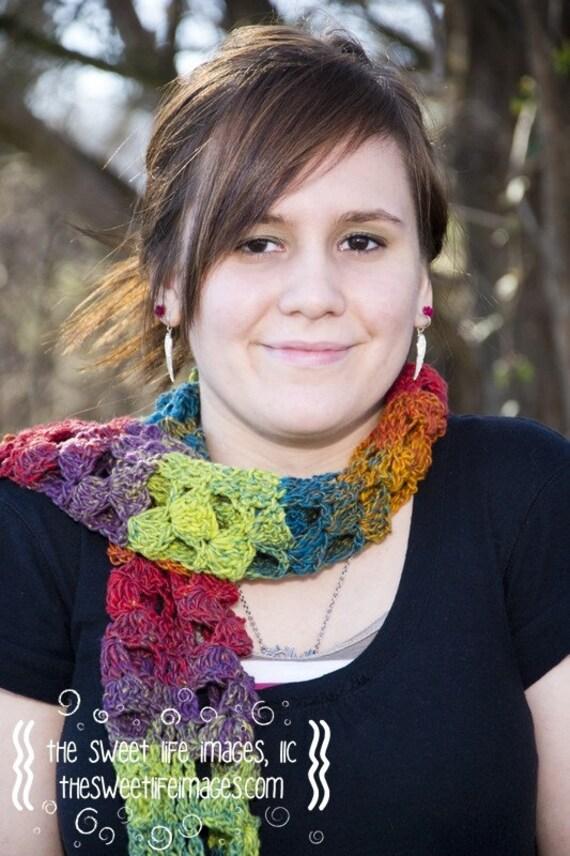 Kayleigh Crochet Scarf