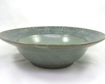 Fluted Rim Bowl