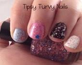 Tobin & Miles - Custom MINI Nail Polish In Honor of Pregnancy and Infant Loss Awareness Day