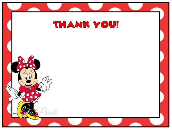 Minnie Mouse Head Invitation Template as nice invitations layout