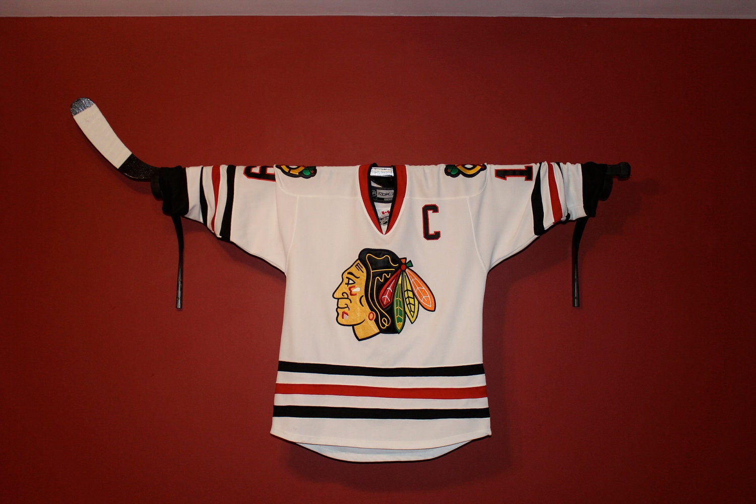 Hockey Valance Holder Jersey Display Or Stick Display