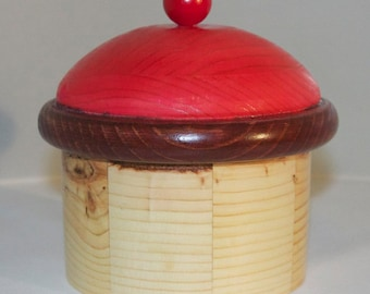Wooden Cupcake Container/Box