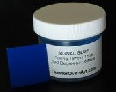 Signal Blue Powder Coating