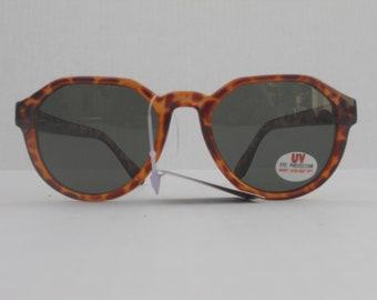 Linda Farrow Faux Toirtoiseshell Vintage Deadstock Sunglasses with Tags