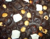 Belgium Dark Chocolate Rocky Road Bark