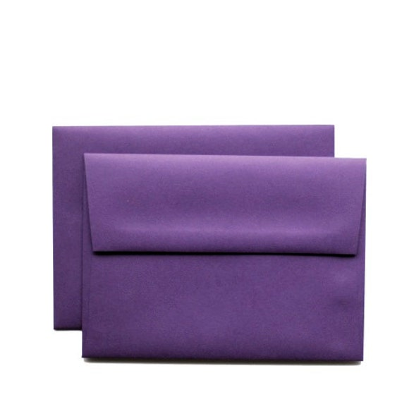25 a7 vino purple envelopse for elegant 5x7 cards by