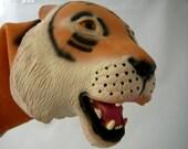 Tiger Handpuppet made from soft Latex