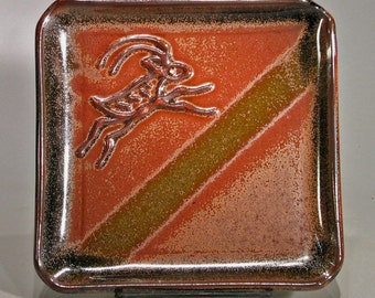 Leaping Goat plate