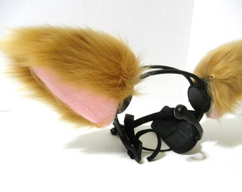 CUSTOM Necomimi Ear Covers: Single Color