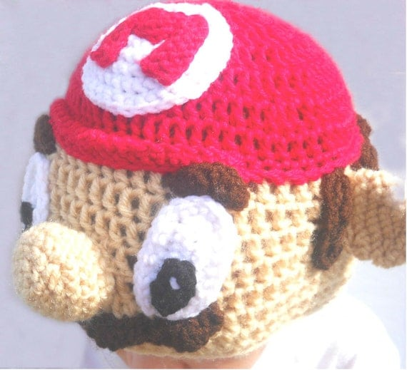 Crochet Super Mario Hat Pattern