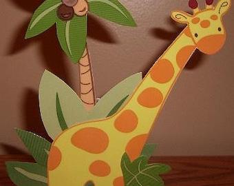 Sweet Safari Jungle Babies Giraffe Nursery Night Light