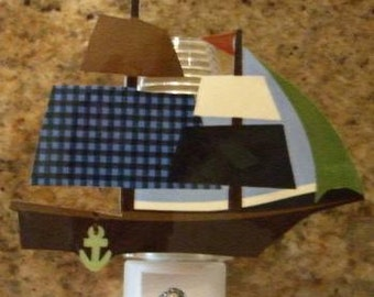 Adorable Zachary/Ahoy Mate Nursery  Night Light