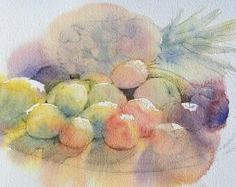 Fruit in the sunshine - fine art print