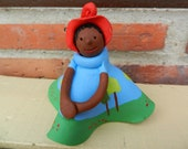 Hand Sculpted Little Doll