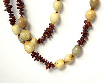 Vintage Natural Seed Necklace