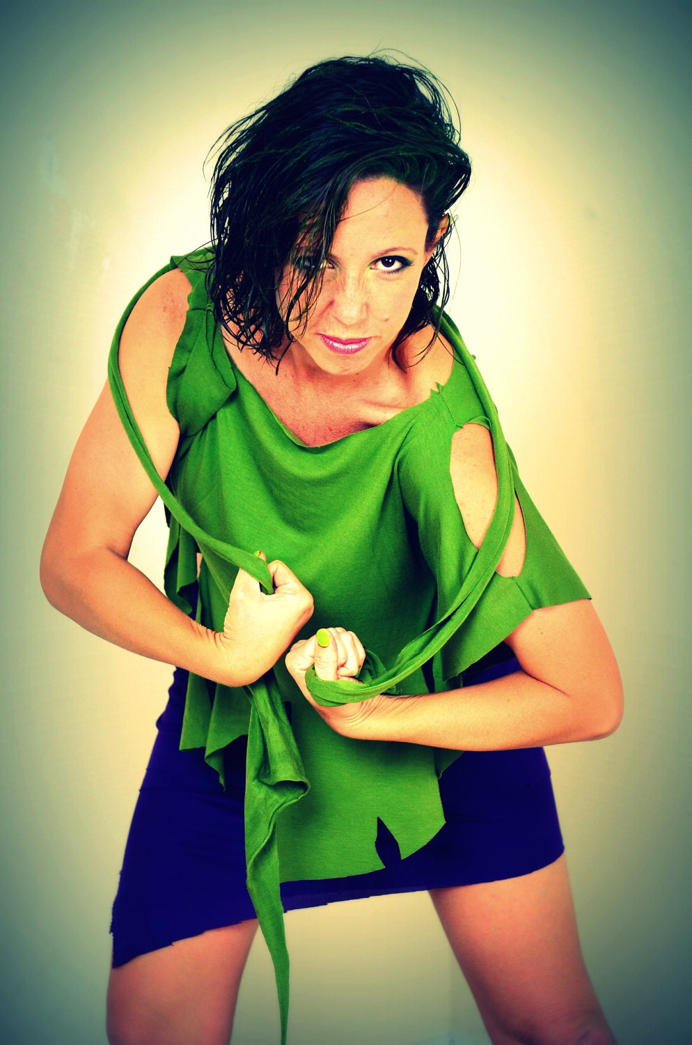 hulk avengers inspired women costume