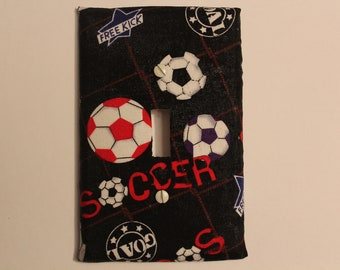 Soccer Switch Plate
