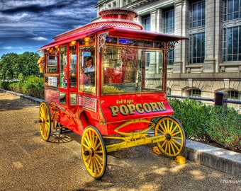 Red Wagon Popcorn on the National Mall