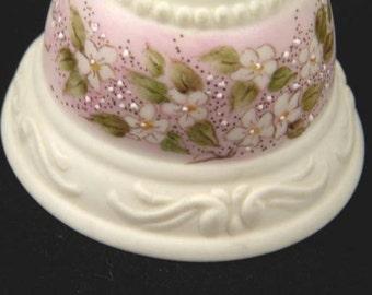 Vintage Porcelain Collectors Tea Bell Brylian Hand Painted