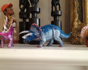 Glitter Triceratops