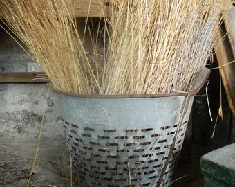 Rustic Metal Olive Bucket, Metal  Baskets from Turkey,Decorative Bucket,Home Decor Basket