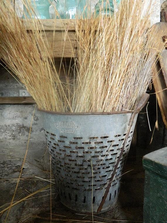 Rustic Metal Olive Bucket, Metal  Baskets from Turkey,Decorative Bucket,Home Decor Basket