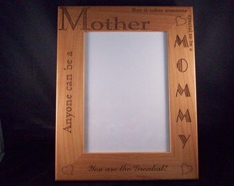 5 x7 or 8x10 Mommy picture frame