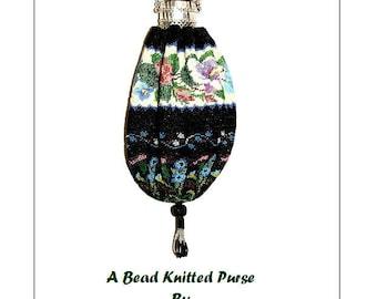 Summer Garden Beaded Bag Purse Pattern
