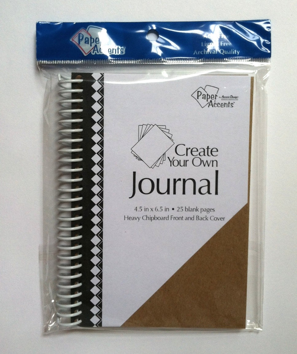 Blank Chipboard Create Your Own Journal 4.5 X 6.5 Brand