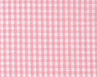 "HALF YARD 1/16"" PINK Fabric Finders Gingham"