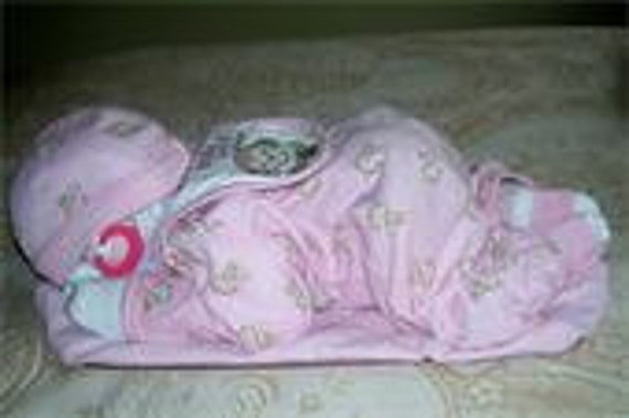 Items Similar To Sleeping Baby Diaper Centerpieces On Etsy