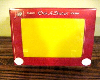 Etch A Sketch Picture Frame
