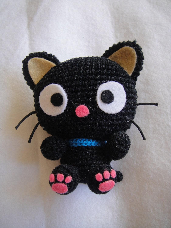 Amigurumi Pattern Chococat Crochet Kitty cat pattern PDF