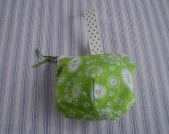 Pot-Belly Coin Purse - Lime Green