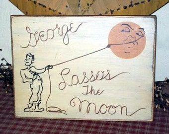 George Lassos The Moon 2 Primitive Sign