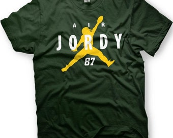 Air Jordy  Green Bay Packers Jordy Nelson T-Shirt -  Adult and Youth