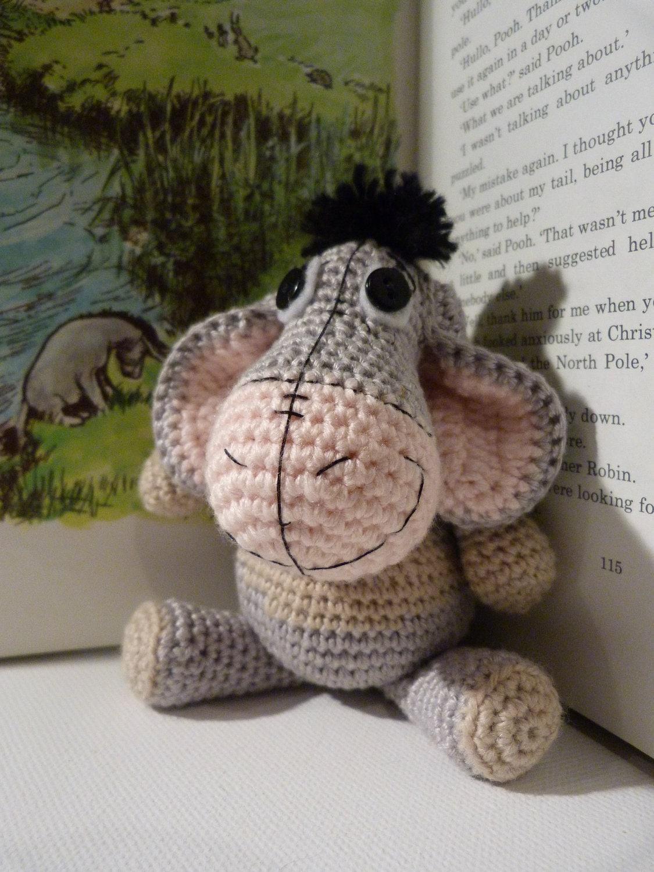 Patron Amigurumi Eeyore : Amigurumi Pattern Cute Eeyore Amigurumi Doll Crochet Pattern