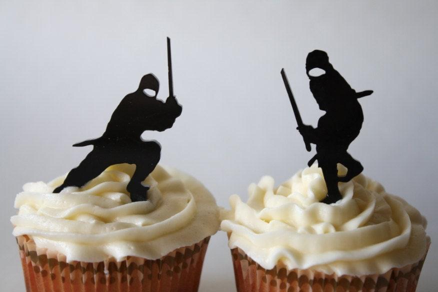 ninja cupcakes Gallery