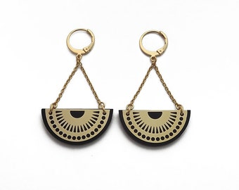 """MOJO"" earrings gold"