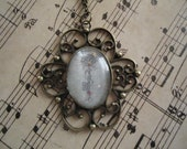 Vintage Inspired Antique Key Pendant