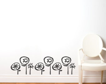 Tycke - Wall Decal - Charcoal