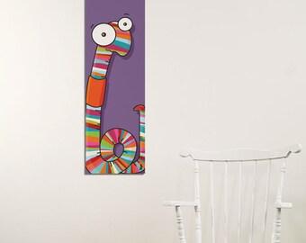 Worm - Canvas - Color Print