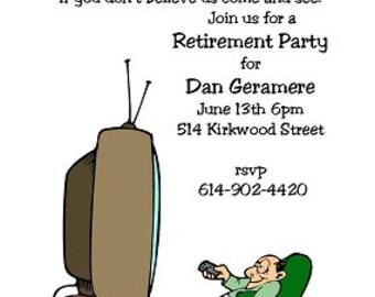 Retirement party invitations-1232