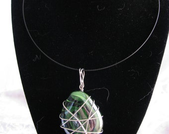 Wire Wrapped 3 in 1 Necklace