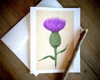 Thistle Cards: Blank Stationery