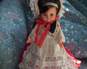 Vintage Ratti Costume Doll Made in Italy
