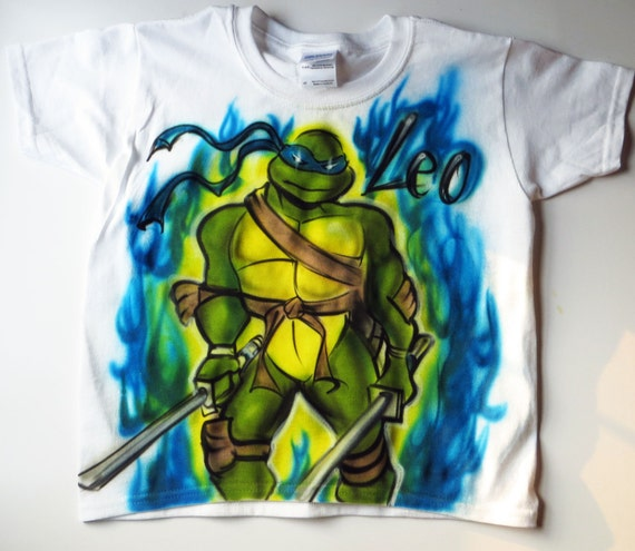 Adult ninja turtle shirt - photo#27